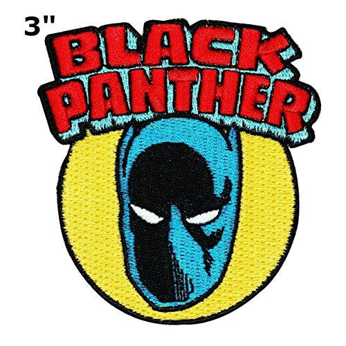 Kostüm Magneto - Black Panther Patch Wakanda Marvel Comics Superheld Thema Logo Serie 2018 New Filmen bestickt Eisen/Nähen auf Badge DIY Applikationen von Athena Marken