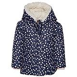 TOM TAILOR Kids Baby-Mädchen Jacke Allover Print Puffer Jacket, Blau (Soft Mid Blue 6349), (Herstellergröße: 86)