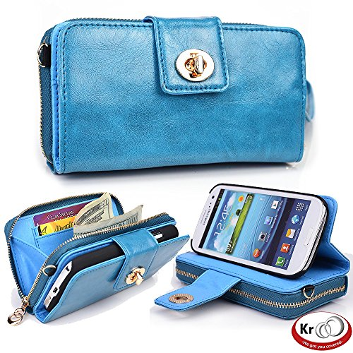 61ai1SZQ46L - Kroo Magnetic Clutch Wristlet for Apple iPhone 4/4S - Frustration-Free Packaging
