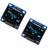 2pcs OLED 128X64 Display OLED LCD LED Display Module I2C IIC SPI Serial COLOR BLUE | 2pcs 2,4 cm SSD1306 I2C IIC SPI Serial 1