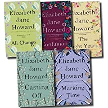 Elizabeth Jane Howard Cazalet Chronicles 5 Books Set, (The Light Years, Marking Time, Confusion, Casting Off and All Change)