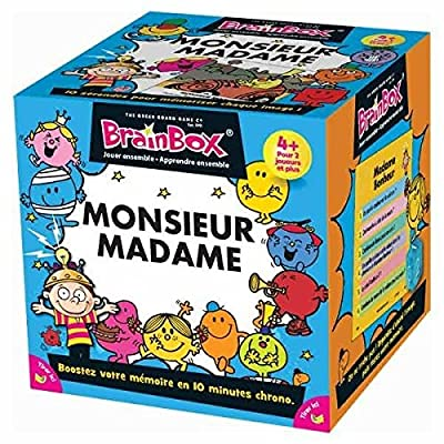 Asmodee - BBMRMS - Brainbox - Monsieur Madame