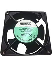 Hicool Cabinet Fan 4-Inch Square 220 V