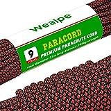 Best Paracords - Wealpe Paracord 550 Nylon Parachute Cord 4mm 9 Review