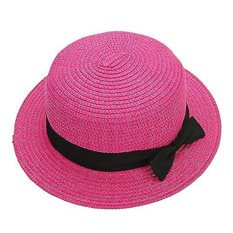 La Cabina Chapeau de Paille -Chapeaux Femme Melon en Dentelle