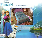 Trapunta Invernale blu Frozen Piumone 180x260cm Imbottitura 320gr
