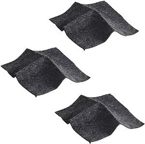 Detrade Auto Kratzer Reparatur Nano Stoff Oberflächen Lappen Kratzer Entferner Nano Lappen Größe 20 10 Cm 7 87 3 94 Zoll Black Sport Freizeit