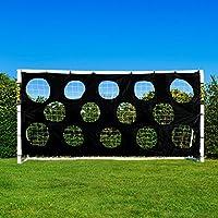 Torwand für Fußballtore, robuste Zielschussplane zur Anbringung an Fußballtoren [Net World Sports]