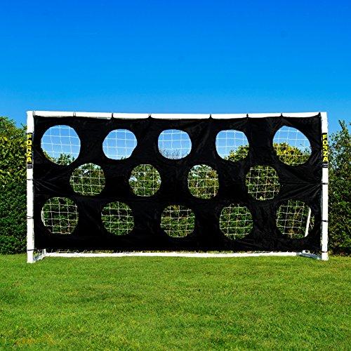 Torwand für Fußballtore, robuste Zielschussplane zur Anbringung an Fußballtoren [Net World Sports] (Torwand 2.4x1.8m)