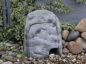 geh use f r stromverteilung stromabdeckung aus steinguss frostfest garten. Black Bedroom Furniture Sets. Home Design Ideas