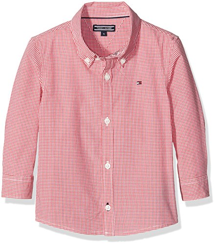 tommy-hilfiger-boys-mini-gingham-l-s-shirt-red-rot-mars-red-694-16-years
