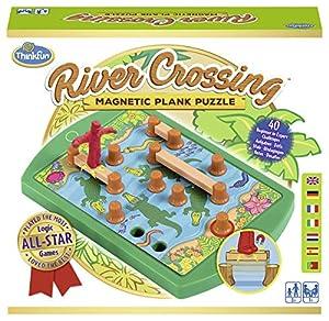 Ravensburger- ThinkFun River Crossing - Juego de lógica (76349)