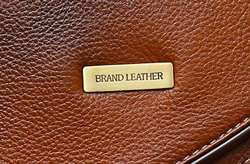 BRAND LEATHER 20 Ltrs Brown Leather Laptop Backpack Image 6