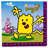 16 Wubbzy Lunch Napkins by Unique Industries