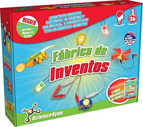 SCIENCE4YOU - FABRICA DE INVENTOS  JUGUETE EDUCATIVO Y CIENTIFICO (600225)