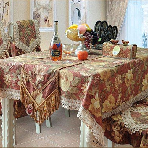 GDJVXCFV Tischdecke/Tischtuch/Nachttisch Cover/Kühlschrank Waschmaschine Tuch/Halstuch/Tisch Tuch/Sofa-Tuch-A 130 * 180cm(51x71inch) -