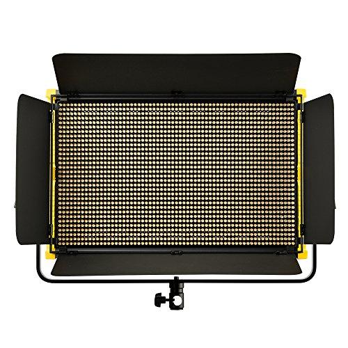 IKAN Onyx OYB15 2 x 1 Bi-Color Aluminum LED Light schwarz/gelb