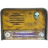 Creepy Radio w/ Sound Halloween Décor