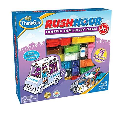 THINKFUN RUSH HOUR JR  JUEGO TRAFFIC JAM LOGIC GAME (TF5040)