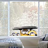 North Star Imagicom Windmin01Minion elektrostatische Aufkleber für Fenster, Typ Window Manhole (Manga), PVC, Maße 0,1x 24x 34cm, Mehrfarbig