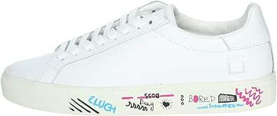 D.A.T.E. Sneakers bassa Donna Bianco Newman-1e