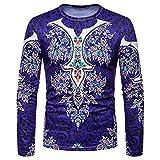 Herren Langarmshirt Xinantime Basic Shirts Herren Herbst Winter Langarmshirt Warm Sweatshirt Pullover Top Fashion Printing Herren Langarm T-Shirt Bluse S-2XL