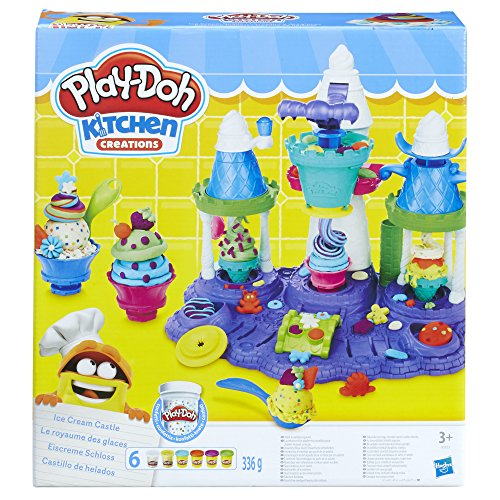 Play-Doh Castillo de helados, multicolor (Hasbro B5523EU6)