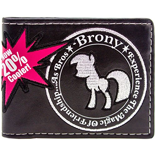 Hasbro My Little Pony Brony Friendship Schwarz Portemonnaie -