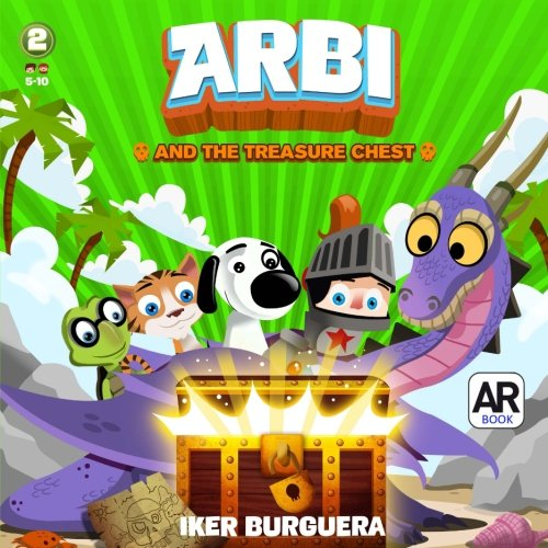 ARBI and the Treasure Chest - Augmented Reality Book por Iker Burguera