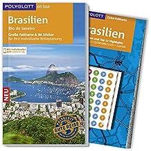 POLYGLOTT on tour Reiseführer Brasilien: Mit großer Faltkarte, 80 Stickern und individueller App