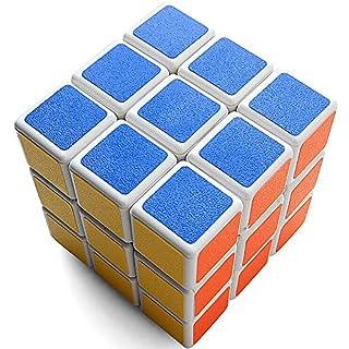 Zauber Würfel Rubiks Cube Speed Cube Frosted Aufkleber 3x3x3 Geschwindigkeit Puzzle Cube Spielzeug Cube Zubita Spiel Rubick 5,7 * 5,7 * 5,7 cm Magische Cube (Weiß)