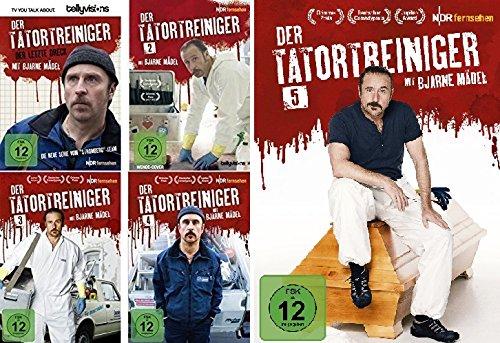 Preisvergleich Produktbild Der Tatortreiniger - Staffel 1-5 im Set - Deutsche Originalware [5 DVDs]
