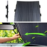 مظلة زجاج مقدمة السيارة قابلة للسحب لجميع انواع السيارات تقي من الاشعة فوق البنفسجية، 80 × 150 سم
