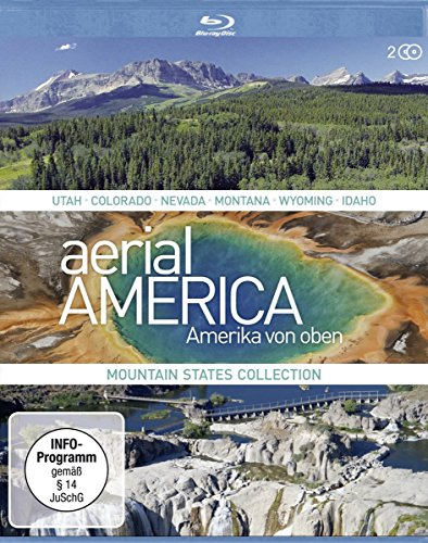 Aerial America - Amerika von Oben - Mountain States Collection [Blu-ray]