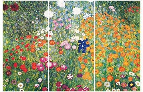 Gustav Klimt - Jardín De Flores