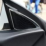 2Matt Silber ABS-Kunststoff Tür Lautsprecher Dekoration Rahmen Besatz für GLA Klasse X156Auto Zubehör