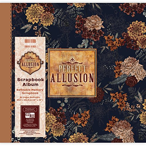 First Edition Perfect Allusion - Floral Scrapbook Album 12