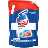 Lifebuoy Total 10 Liquid Mild care Handwash Refill With 99.9% Germ Protection Fights Bacteria And Viruses, Maintains…
