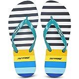 SOLETHREADS Nautica | Beach | Travel Ready | Printed | Fashion | Light | Fun | Outdoor | Flip Flops for Women