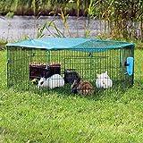 Trixie 6242 natura 6Elements Outdoor Run für junge Tiere mit Net