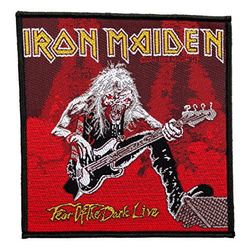 Iron Maiden Fear Of The Dark Live Sew On Clothing