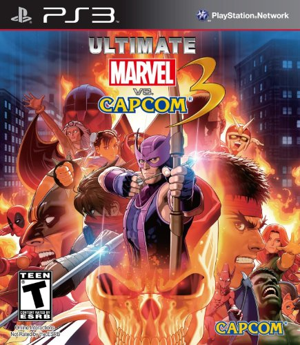 Ultimate Marvel vs Capcom 3 PS3 US Version