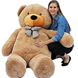 Joyfay® 200cm 78″ Giant Teddy Bear Big Teddy Bear XXL Extra Large Plush Bear Toy Best Gift for Birthday Christmas Valentine Anniversary
