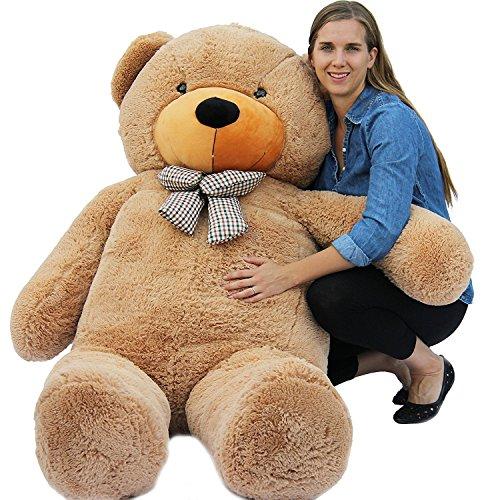 Joyfay® 200cm 78″ Giant Teddy Bear Big Teddy Bear XXL Extra Large Plush Bear Toy Best Gift for Birthday Christmas Valentine Anniversary