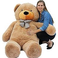 "Joyfay® 200cm 78"" Giant Teddy Bear Big Teddy Bear XXL Extra Large Plush Bear Toy Best Gift for Birthday Christmas Valentine Anniversary"