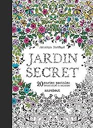 Cartes postales Jardin secret
