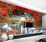 3D Foto Paesaggio Europeo Colonna Romana Giardino Rosa Moderna Tv Divano Sfondo Non Tessuto Decorazioni Per La Casa,200Cmx140Cm