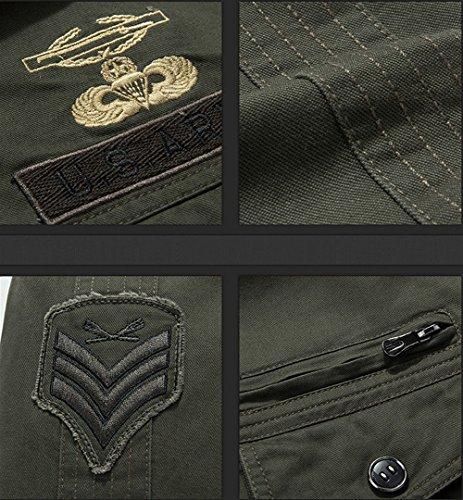 JZWXX - Blouson - Blouson - Homme 9931 Army Green