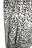 Leopard Karneval Kinder Kostüm Schlafanzug Fasching Katze Tiger (128) -