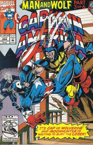 Captain America #404: Children of the Night